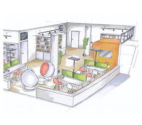 Innenarchitektur in wien b roplanung von next office for Innenarchitekt wien